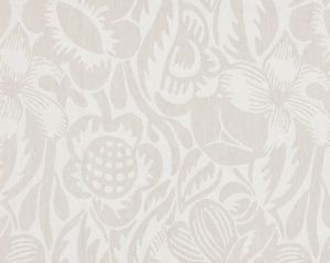 27131-002 DECO FLOWER Pearl Grey Scalamandre Fabric