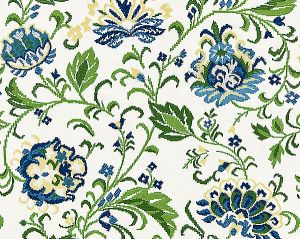 27173-002 DELPHINE EMBROIDERY Jardin Scalamandre Fabric