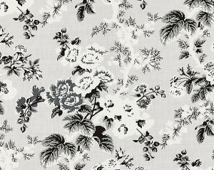 16602-003 ASCOT LINEN PRINT French Grey Scalamandre Fabric