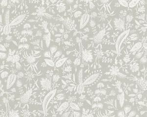 16605-003 TULIA LINEN PRINT French Grey Scalamandre Fabric