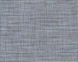 27099-005 BANBURY STRIE CHECK Indigo Scalamandre Fabric