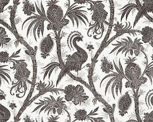 16575-006 BALINESE PEACOCK Java Scalamandre Fabric