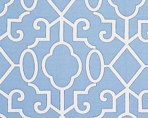 27012-006 MING FRETWORK Delft Scalamandre Fabric