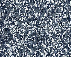 27195-006 BALI FLORAL Ultramarine Scalamandre Fabric
