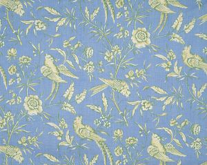 16352-008 AVIARY Sky Scalamandre Fabric