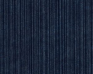 K65111-010 STRIE VELVET SC Prussian Blue Scalamandre Fabric