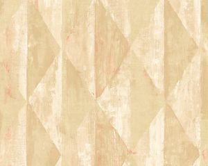 WMA MF010504 TOBY Red Gold Scalamandre Wallpaper