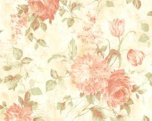 WMA MF010506 SASHA Pink Scalamandre Wallpaper