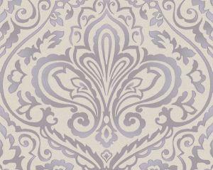 WMA MF180605 PROSPECT Purple Silver Scalamandre Wallpaper
