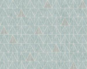 WMA ST020913 SUMMIT Seafoam Scalamandre Wallpaper