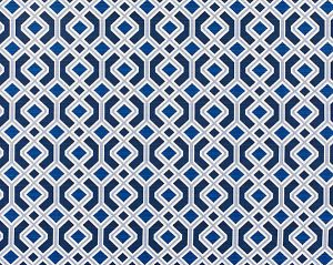 WR 00012995 OAK BLUFF Indigo Old World Weavers Fabric