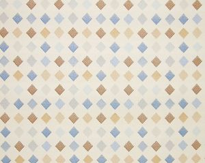 WR 00022456 BREEZEWAY FH Blue Multi/Pearl Old World Weavers Fabric