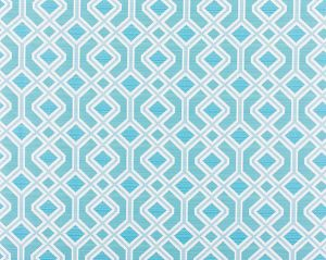 WR 00022995 OAK BLUFF Turquoise Old World Weavers Fabric