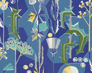 WSB 00660422 TISTLAR Blue Sandberg Wallpaper
