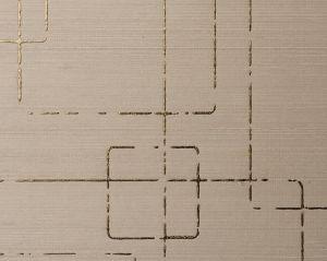 WTT 651282 SHAMBALA SILK Antique Gold Scalamandre Wallpaper