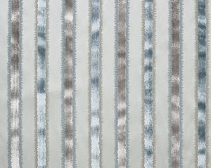 ZS 0001VELZ TAI LAO STRIPE Mist Old World Weavers Fabric