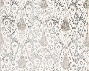 ZS 00022VEL TAI LAO Slate Old World Weavers Fabric