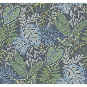 2785-87424 Jasmine Indigo Brewster Wallpaper