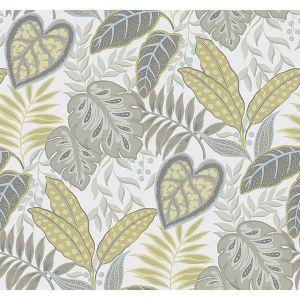2785-87423 Jasmine Citrine Brewster Wallpaper