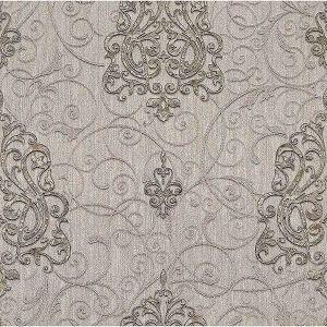 Z1746 Dis Zeno Damask Silver Brewster Wallpaper