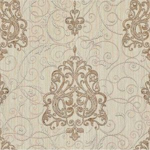Z1755 Dis Zeno Damask Beige Brewster Wallpaper