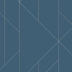 2889-25200 Torpa Geometric Blue Brewster Wallpaper