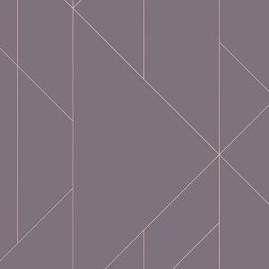 2889-25205 Torpa Geometric Purple Brewster Wallpaper
