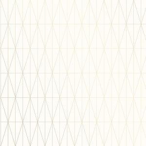 2889-25212 Tofta Geometric Off-White Brewster Wallpaper