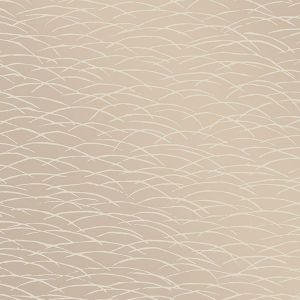 2889-25243 Hono Abstract Wave Beige Brewster Wallpaper