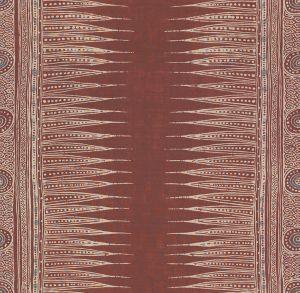 2010136-9 INDIAN ZAG Paprika Lee Jofa Fabric