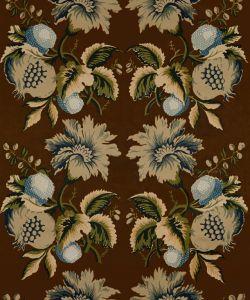 2012142-650 JESSUP Sepia Indigo Lee Jofa Fabric