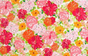 2016103-97 HERITAGE FLORAL II Salmon Pink Lee Jofa Fabric