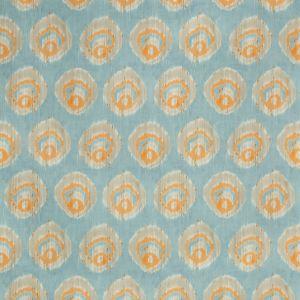 2018141-125 MONACO PRINT Aqua Melon Lee Jofa Fabric
