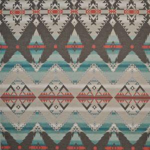 LCF66766F CROW WARRIOR BLANKET Turquoise Ralph Lauren Fabric