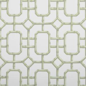 W3404-23 BAMBU FRET Celery Kravet Wallpaper