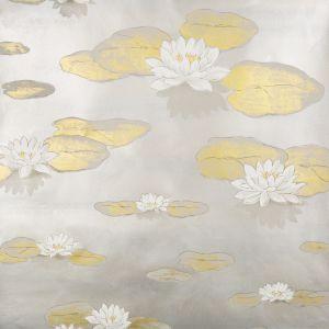 W3405-411 LIS D'EAU Pewter Kravet Wallpaper