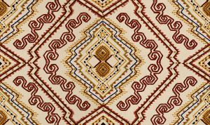 2010105-194 ABYSSINIA Red Gold Lee Jofa Fabric