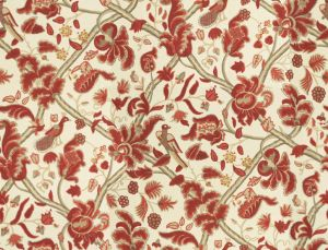 2010125-194 BLOOMSBURY Red Gold Lee Jofa Fabric