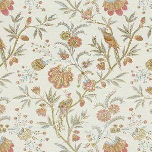 2013124-715 SEAFIELD Pink Aqua Lee Jofa Fabric