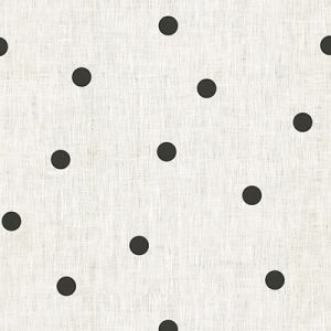 4095-81 SCATTER DOT Black Kravet Fabric