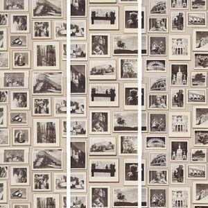 AMW10037-11 STUDIO Grey Kravet Wallpaper