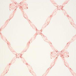 LWP62212W MATILDA RIBBON TRELL Blush Ralph Lauren Wallpaper