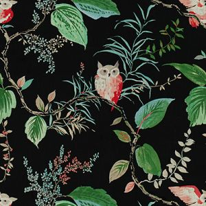 OWLISH-819 Black Kravet Fabric