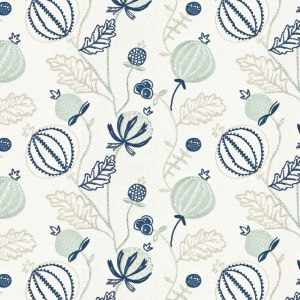 MIGUEL 4 Navy Stout Fabric