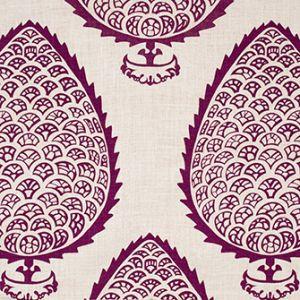 LEAF Plum Katie Ridder Fabric