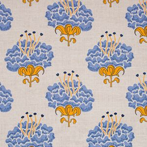 PEONY Hydrangea Katie Ridder Fabric