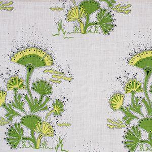 SEAWEED Lime Katie Ridder Fabric