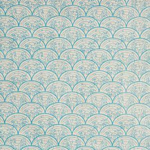WAVE Aqua Katie Ridder Fabric