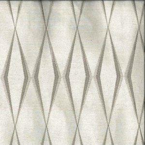 ZIG ZAG Silver Norbar Fabric