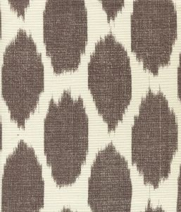 306110F ADRAS Brown on Tint Quadrille Fabric